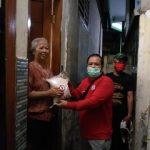 Pospera Peduli Salurkan Bantuan  Paket Sembako dan Masker