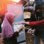 Komunitas Senabung Jakarta Berbagi Untuk Masyarakat Terdampak Covid-19