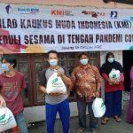 Peduli Sesama di Tengah Pandemi Covid-19, KMI Bagikan 600 Paket Sembako